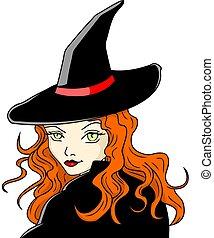 witch - beautiful witch