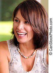 Beautiful Woman - Attractive Middle Age Woman Baby Boomer