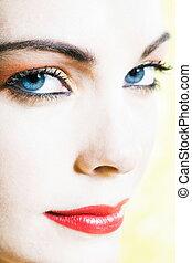 Beautiful Woman beauty Portrait Smiling