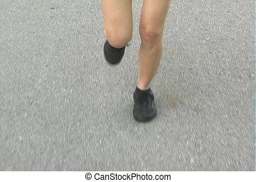 Beautiful Woman Jogging (5)