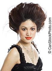 Beautiful woman - An isolated shot of a beautiful asian...