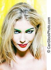 Beautiful Woman Portrait Sly