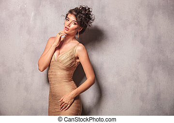 his-hand-under-her-sexy-dress