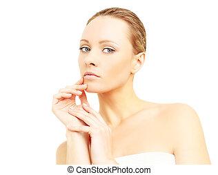 Beautiful woman - spa
