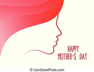 beautiful women face for happy mother's day