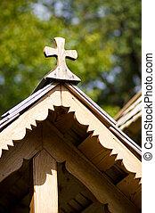Beautiful wooden church