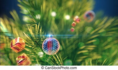 Xmas Tree  - Beautiful Xmas Tree Zoomout