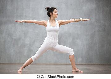 Beautiful Yoga: Warrior two pose