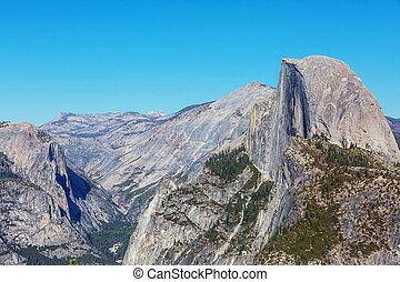 Yosemite - Beautiful Yosemite National Park landscapes,...