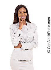young african businesswoman