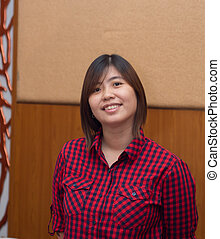 Beautiful Young Asian - Chinese Woman Smiling