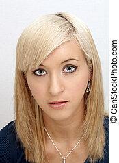 Beautiful Young Blonde Headshot