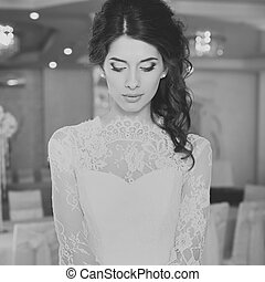 Beautiful young bride.