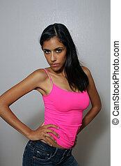 Beautiful Young Multiracial Woman (1)