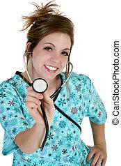 Beautiful Young Nurse