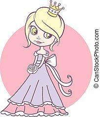 Beautiful young princess