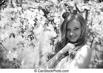 Beautiful young