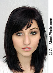 Beautiful Young Woman, Headshot (1)