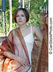 Beautiful Young Woman Outdoors (12)