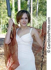 Beautiful Young Woman Outdoors (6)