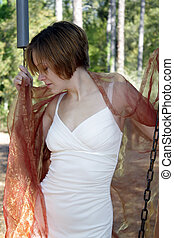 Beautiful Young Woman Outdoors (7)