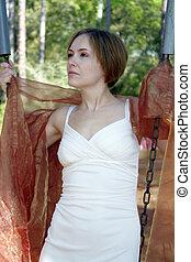 Beautiful Young Woman Outdoors (8)
