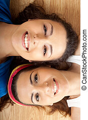Beautiful young women\'s