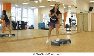 Beautifull female on the step board - Rostov on Don %u2013...