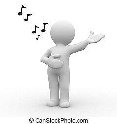 Beautifull song - Human singing a beautiful song
