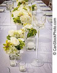 Beautifully Decorated Wedding Venue