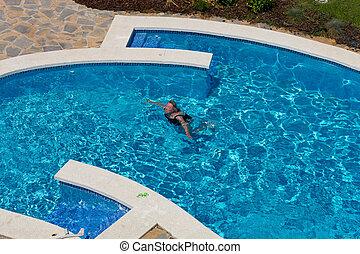 Beautifully swimming pool