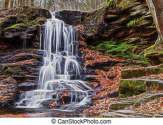 Beautul Fall Waterfall