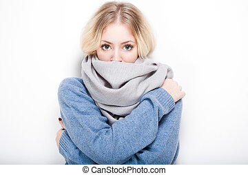 beauty., κρύο , eather