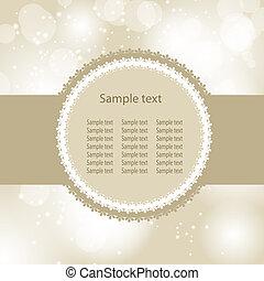beauty, abstract, illustratie, achtergrond., vector, jaar, nieuw, kerstmis