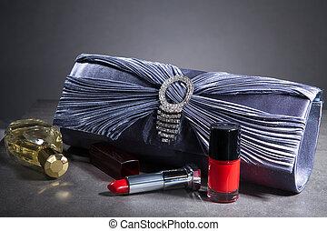 beauty, accessoire, voor, vrouwen