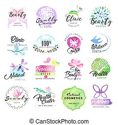 Beauty and cosmetics labels