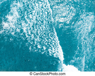 Beauty and danger of a deep blue ocean