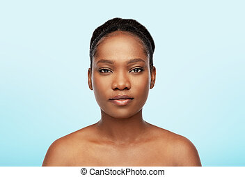 portrait of young african american woman