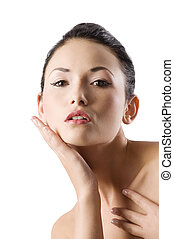 beauty asian portrait