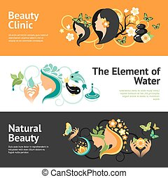 Beauty Banner Set