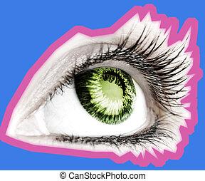 Beauty big eye.