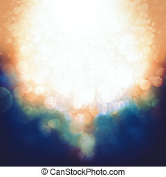 Beauty Bokeh. Abstract party and celebration backgrounds for your design