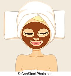 Beauty Chocolate Mask - Facial chocolate mask for woman...