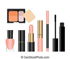 beauty., collection, femme, accessoires