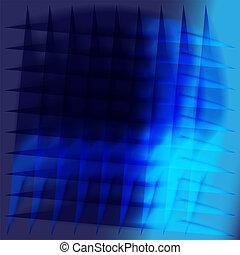Beauty concept blue background