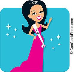 Beauty Contest Girl