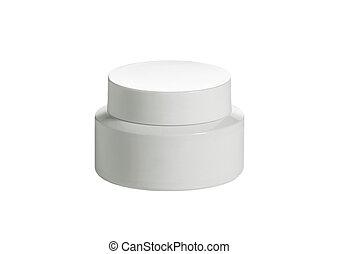 Beauty cream Isolated on white
