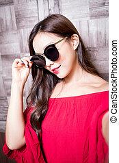 beauty fashion woman