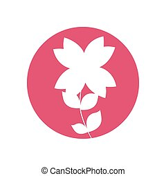 beauty flower natural icon