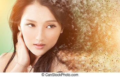 beauty, gezicht
